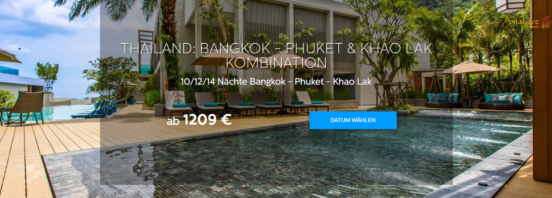 Thailand: Bangkok -Phuket & Khao Lak Kombination - Asia Live Kombireisen